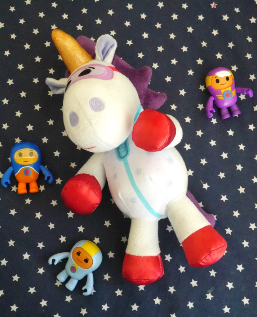 Go Jetters toys review - Ubercorn the unicorn soft toy