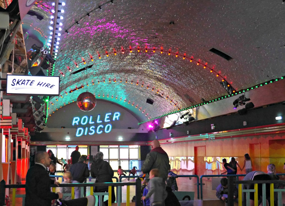 Dreamland Margate review rollerdisco