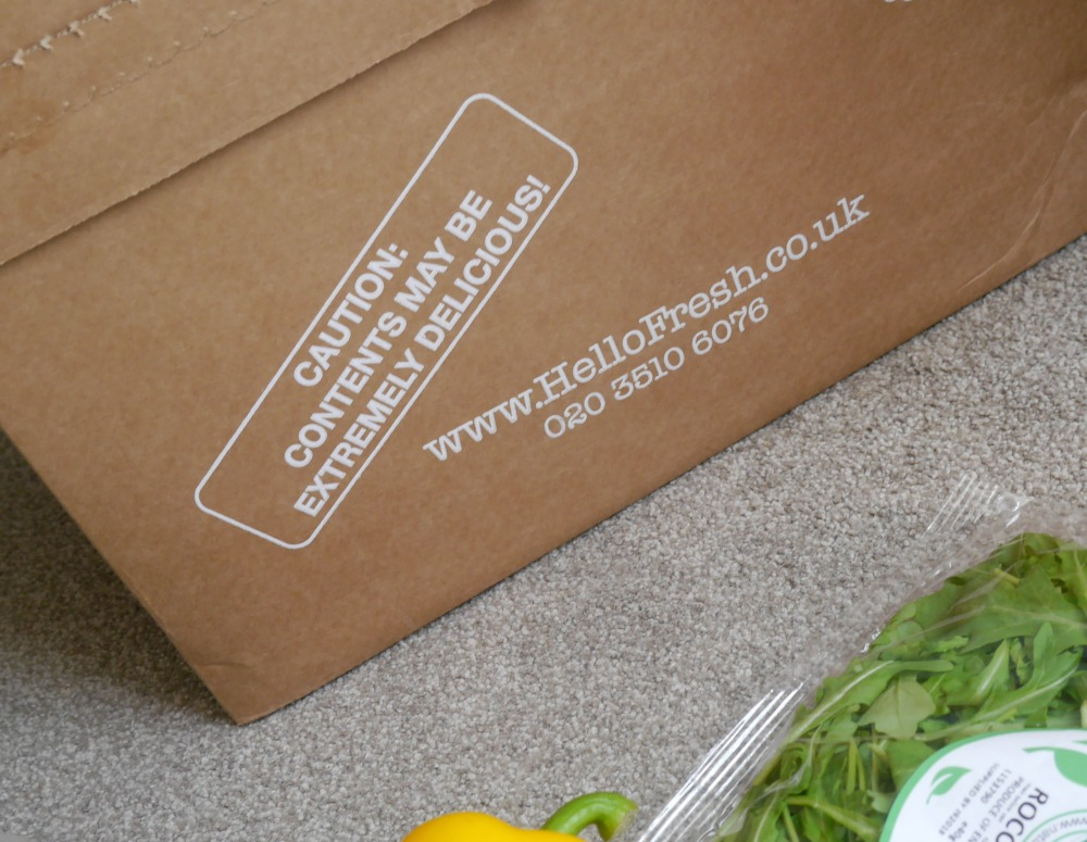 HelloFresh review - Hello Fresh box