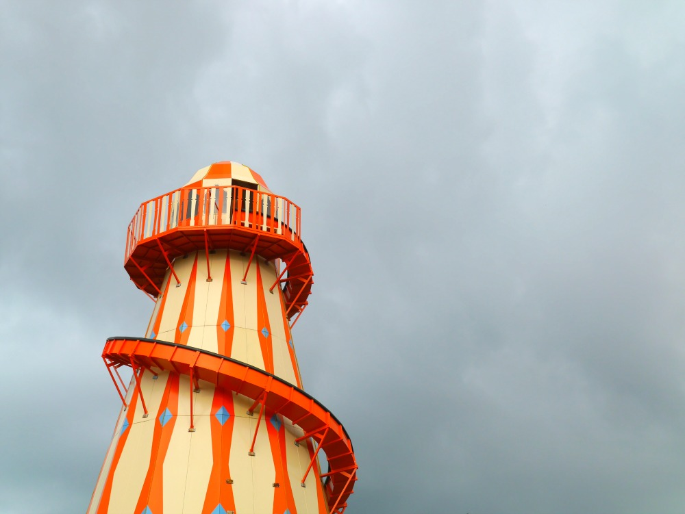 Helter Skelter at Dreamland Margate
