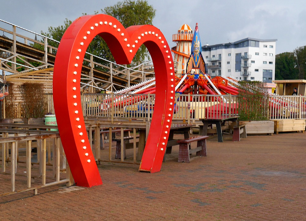 Love heart, Dreamland Margate