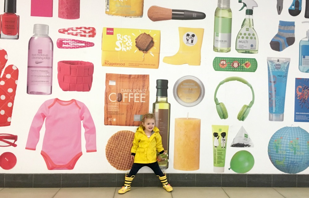 Toddler against a colourful wall - how long can you call a baby a baby for?