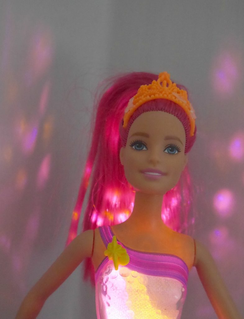 Barbie Dreamtopia light-up Barbie projector doll