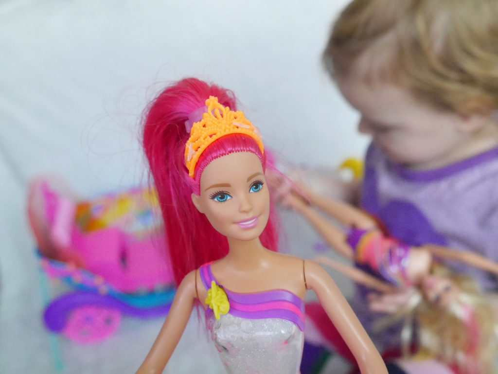 Barbie Dreamtopia review - can you be a feminist mum and let your children play with Barbies?