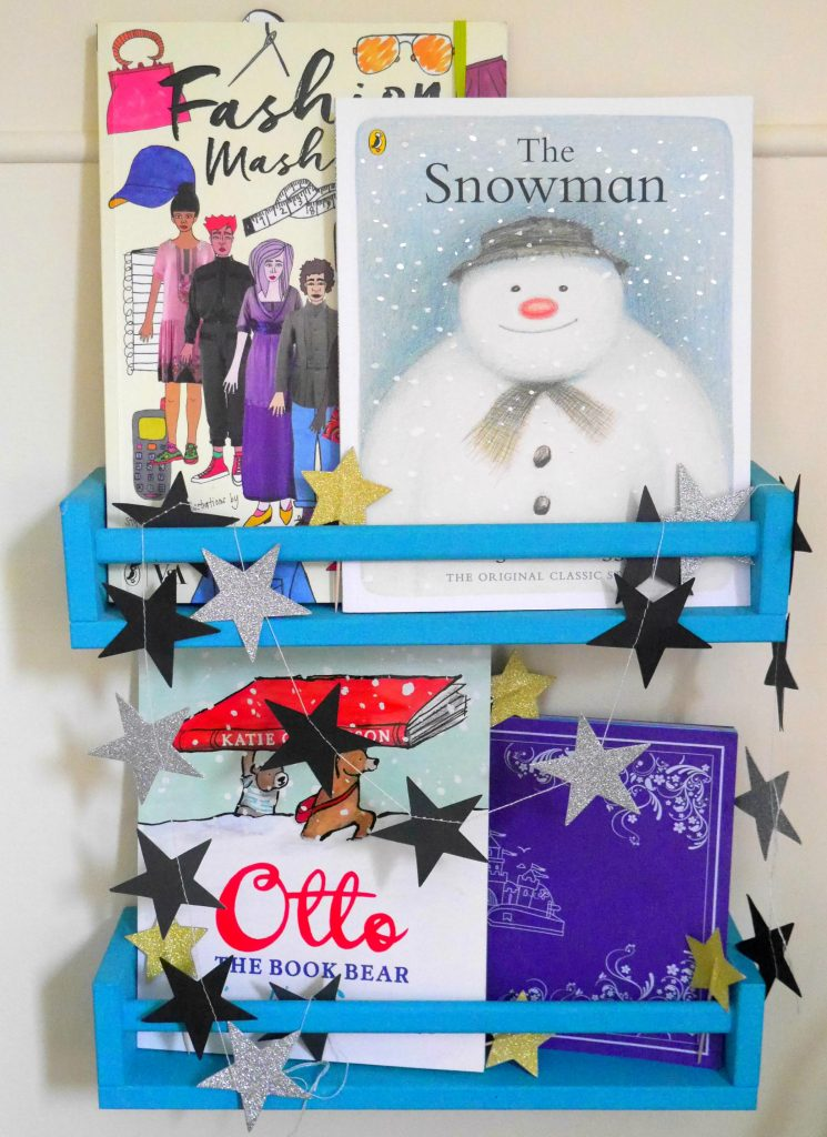 Children's Christmas books nad Ikea spice rack bookshelves - a review of four children's books for Christmas that grown-ups will love too, from an interactive iPad book to a kid's classic