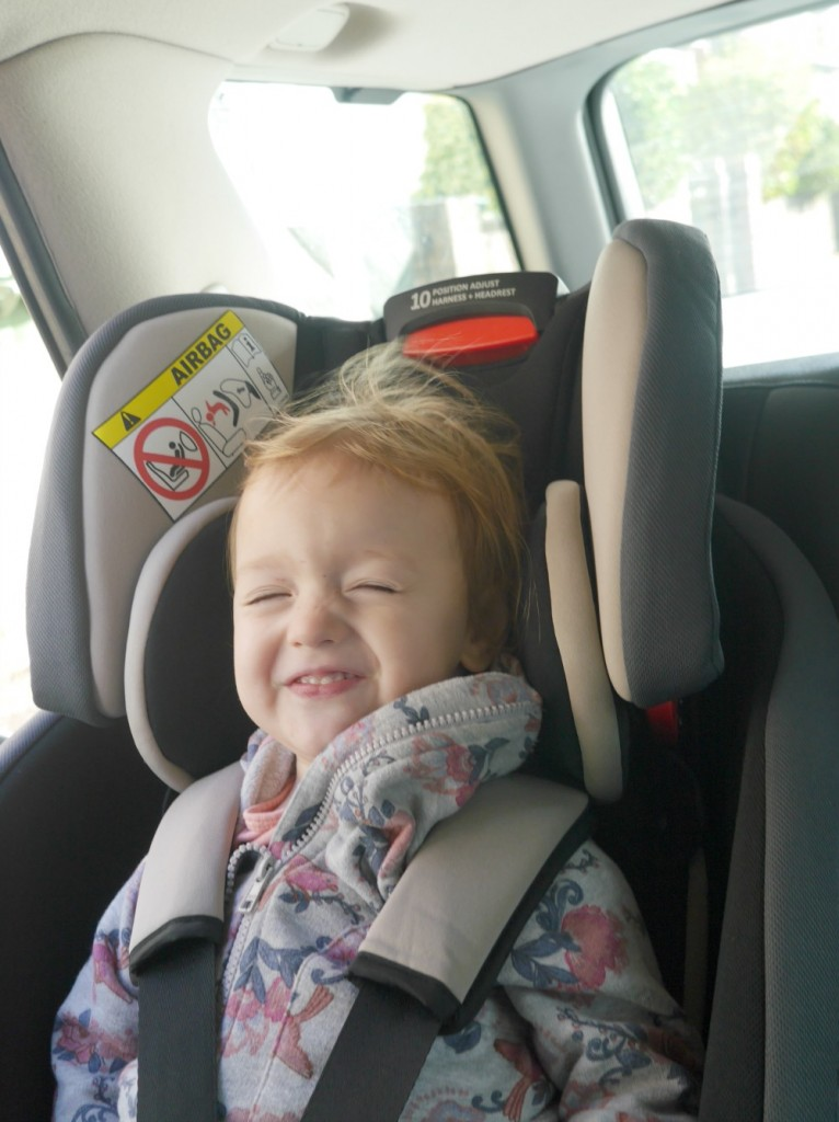 A review of the convertible Graco Milestone car seat