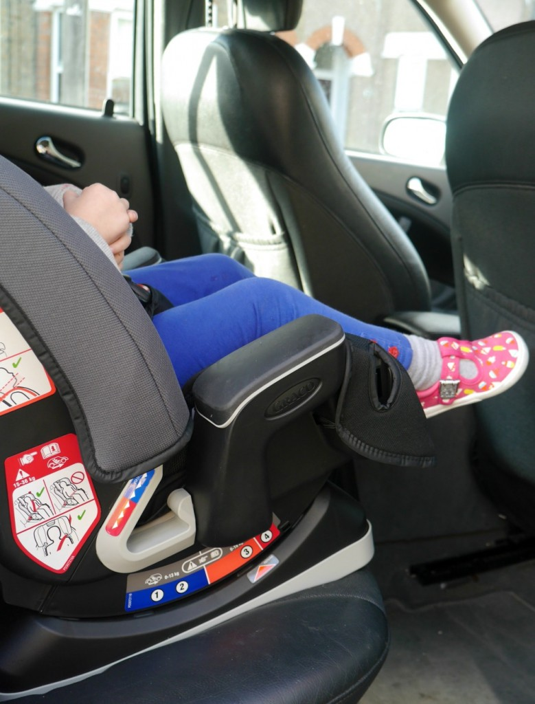 Graco milestone car seat review - different reclines