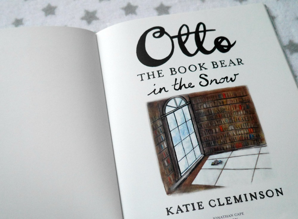 Otto and the book bear review - children's books for Christmas