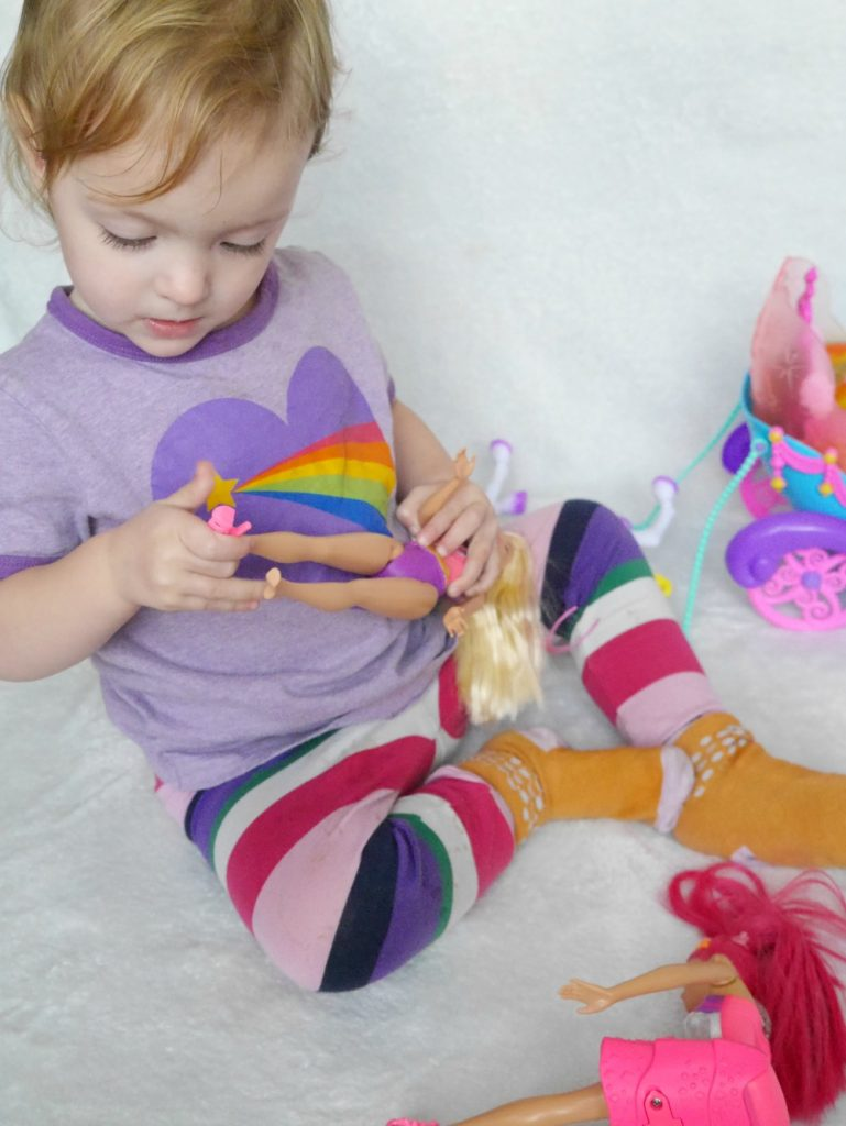 Playing with Barbie Dreamtopia