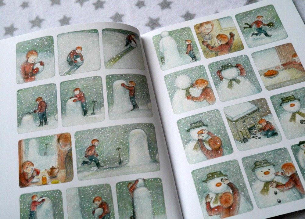 The Snowman children's book