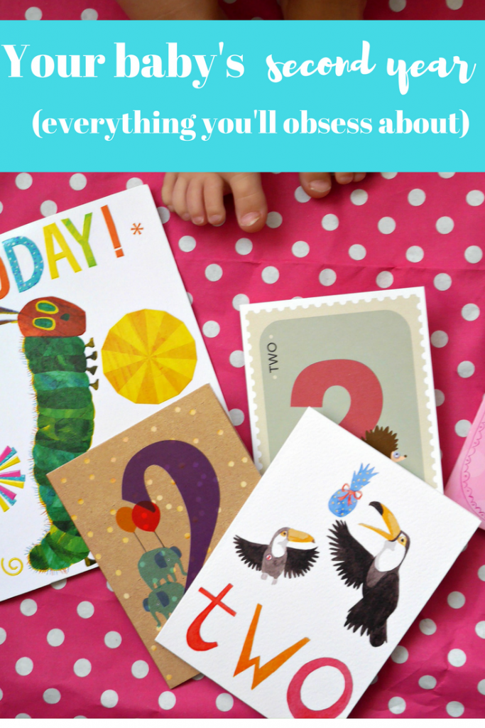 Baby's second year - even MORE things you'll obsess about as a parent. Make sure you read this list!