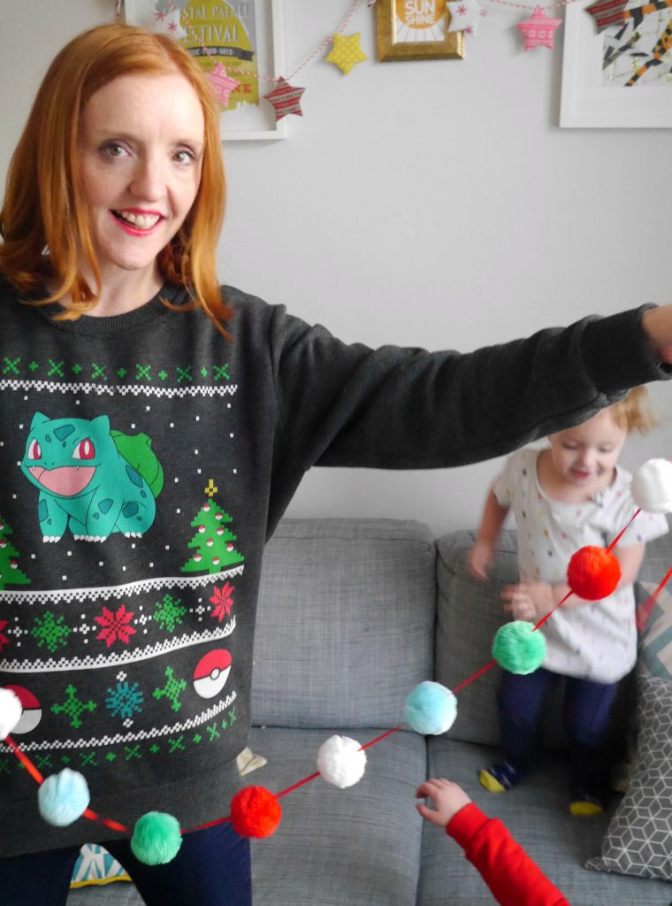 Christmas Jumper Day - Save the Children and pokemon christmas jumper