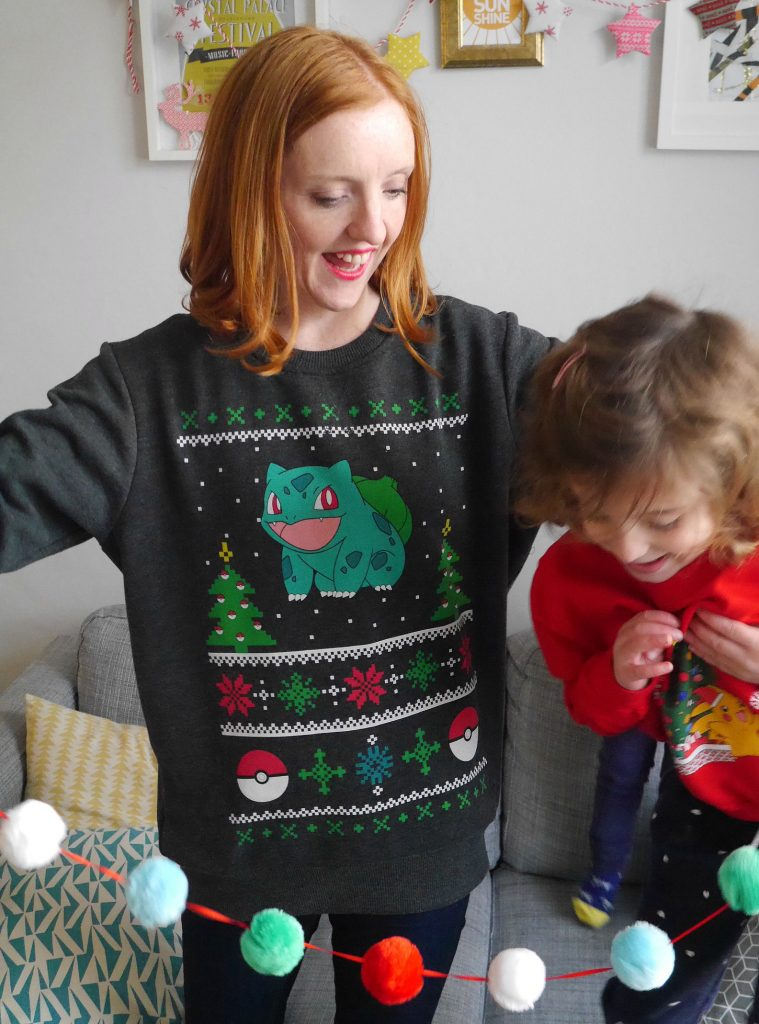 Christmas Jumper Day - pokemon christmas jumper