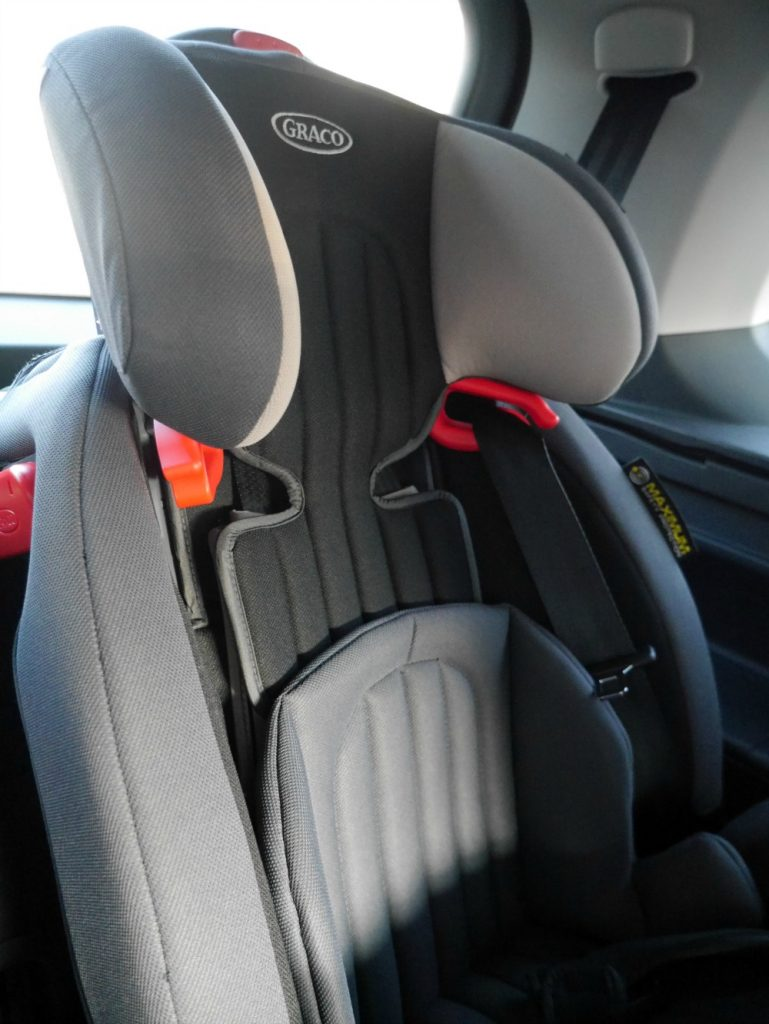 Graco Nautilus Elite - car seat in high-backed booster mode