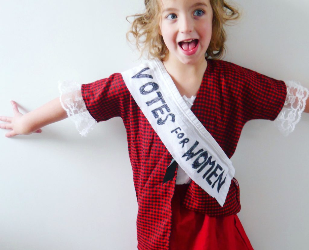 Some thoughts on the Women's Hour Power list, and a suffragette costume