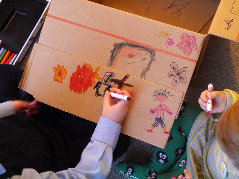 Sohpy Henn Edie drawing