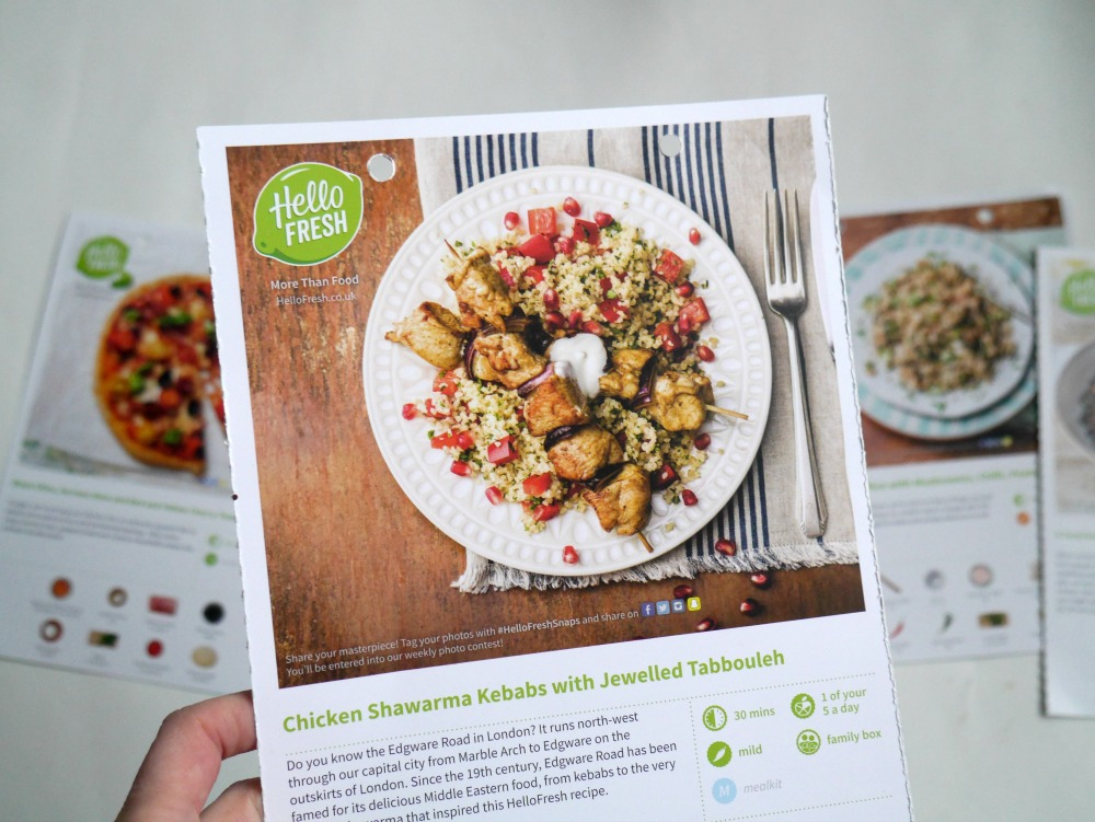 HelloFresh review and recipes