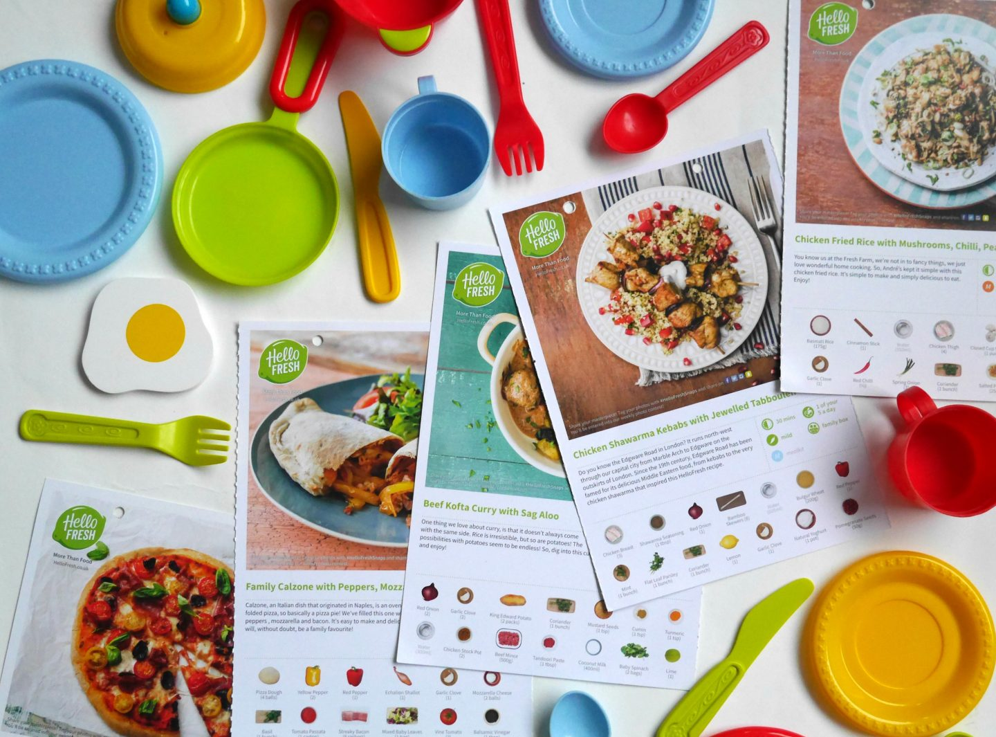 Taking the HelloFresh Dinner Time Challenge - recipes