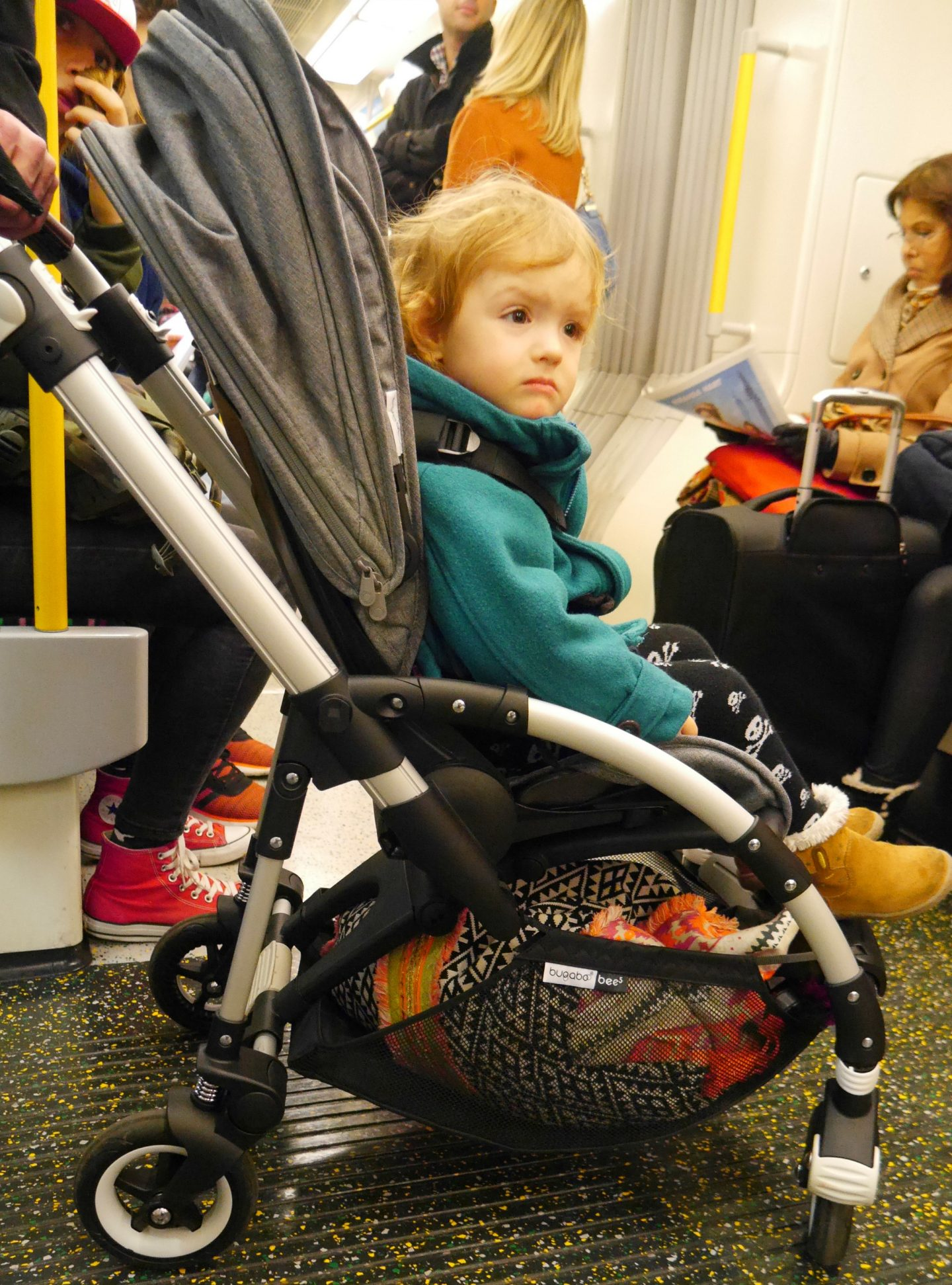 Bugaboo Bee 5 on public transport - how to get around on public transport with a baby