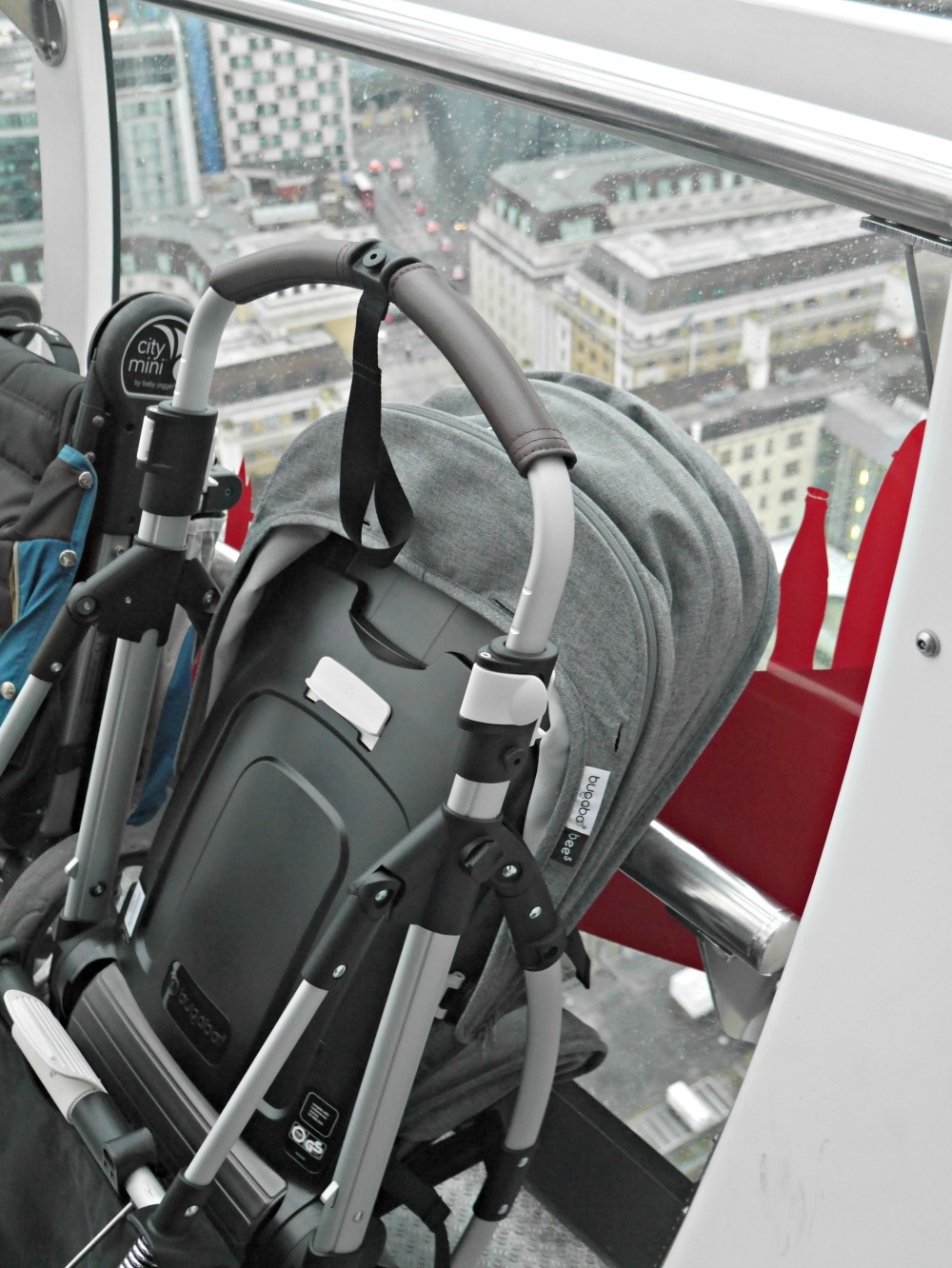 Buagaboo Bee 5 review - folded pram
