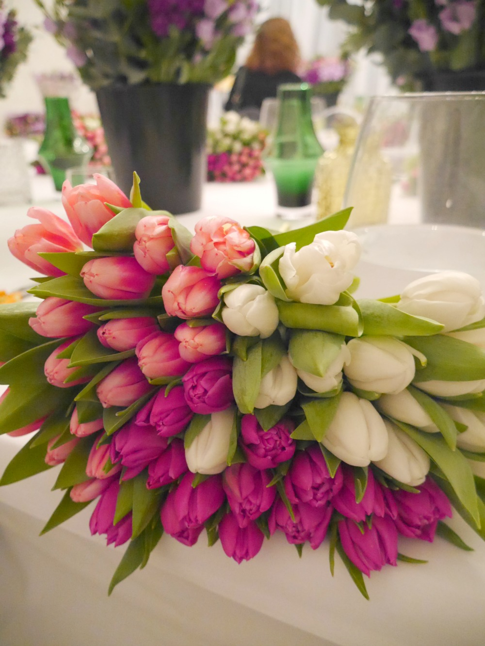 Flower arranging - M&S masterclass