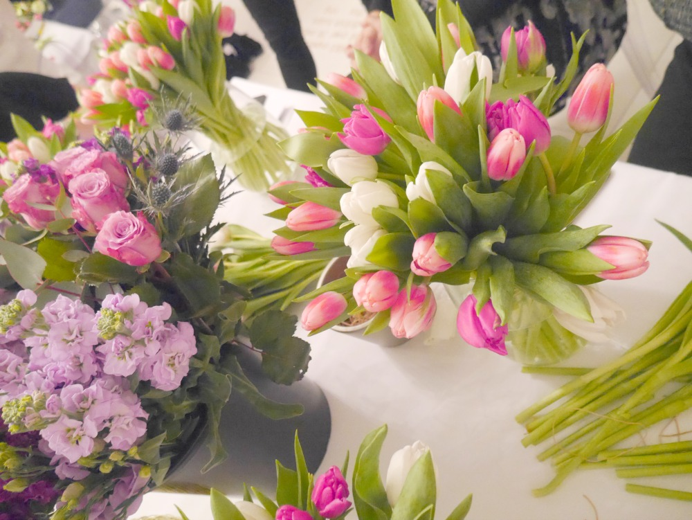 M&S flower arranging masterclass