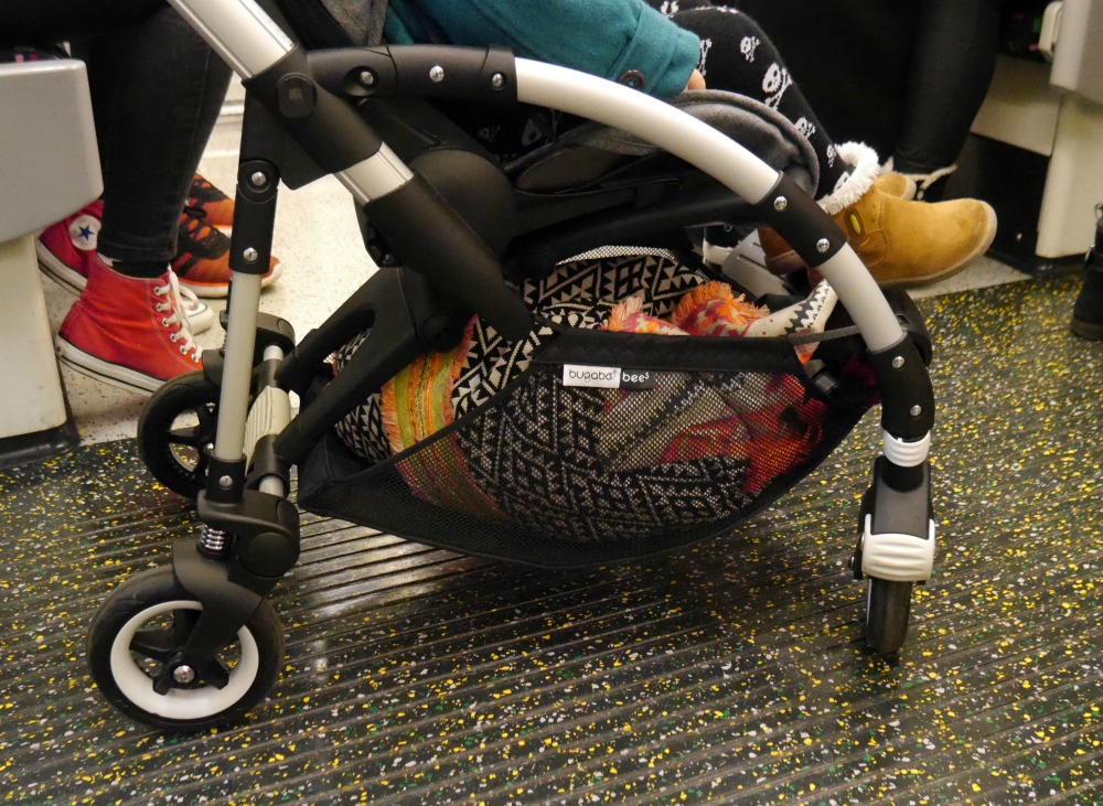 New Bugaboo Bee Five on public transport - on the tube
