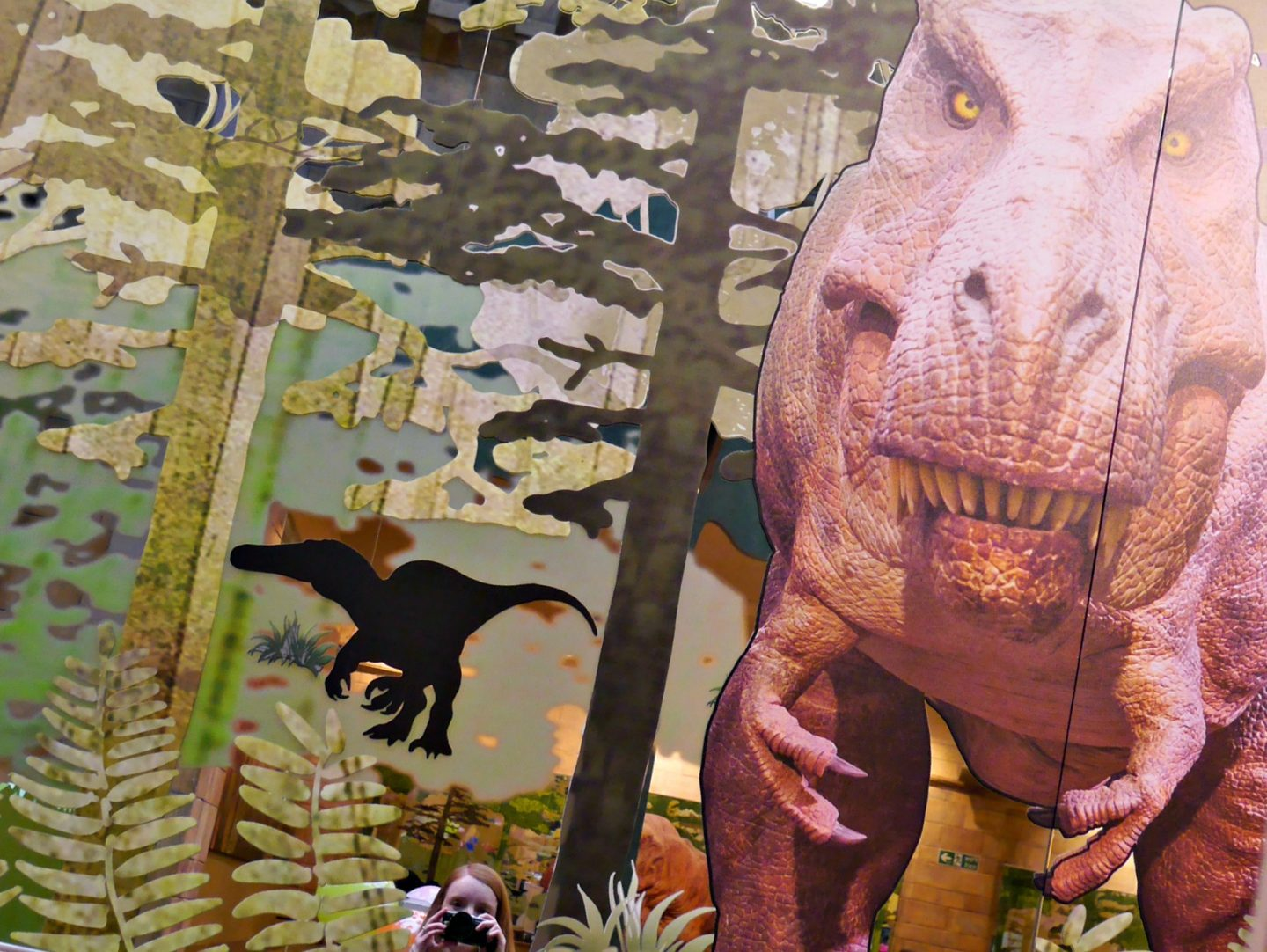 T Rex Grill review - Natural History Museum