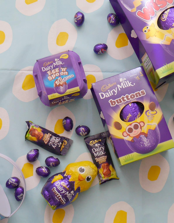 Cadbury Easter chocolate range
