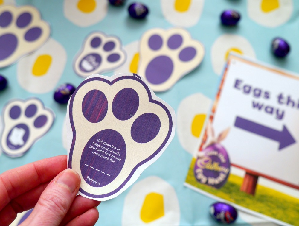 Easter egg hunt clues - print your own