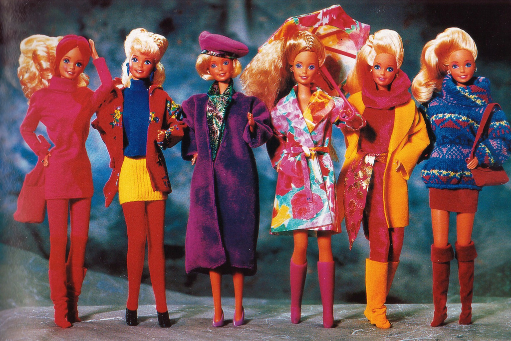 Vintage Barbie fashions