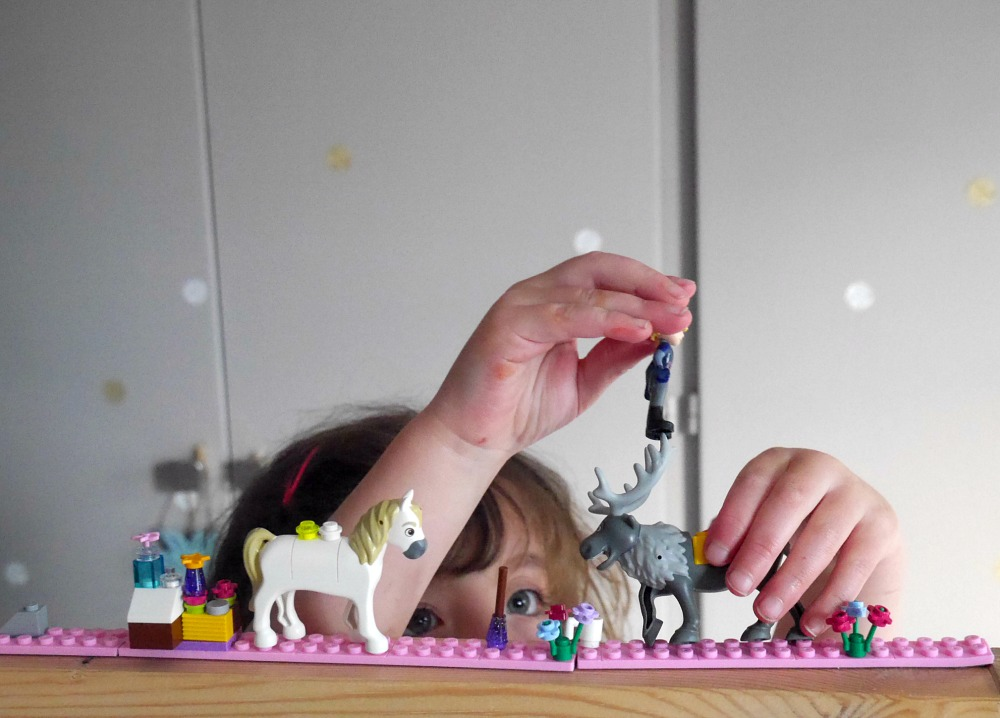 Lego tape - sticky plastic tape that lets you play with Lego anywhere you stick it (how brilliant?)
