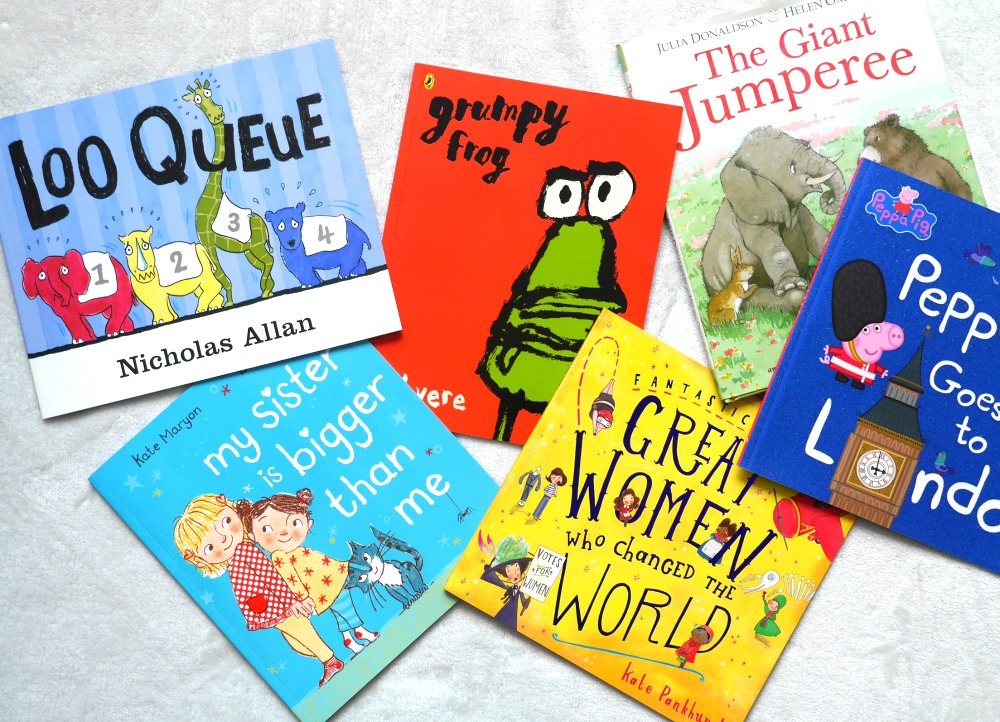 New children's book reviews including new Julia Donaldson and Peppa Pig books for children