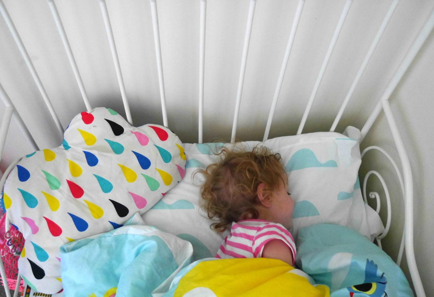 When did your child drop the daytime nap?