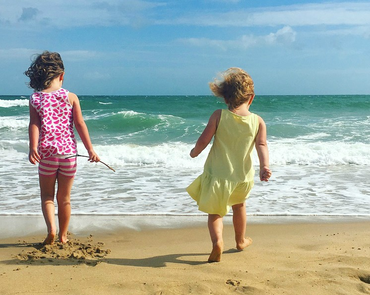 Beach life - on Boscombe beach