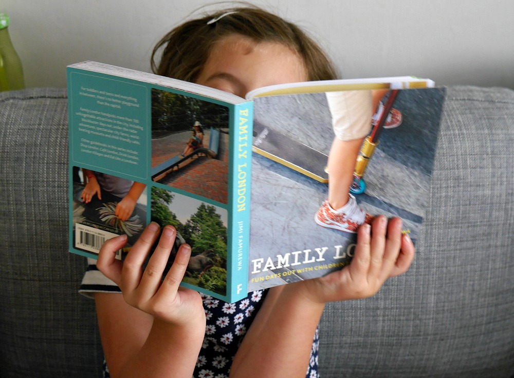Family London by Jimi Famurewa London guidebook for children review