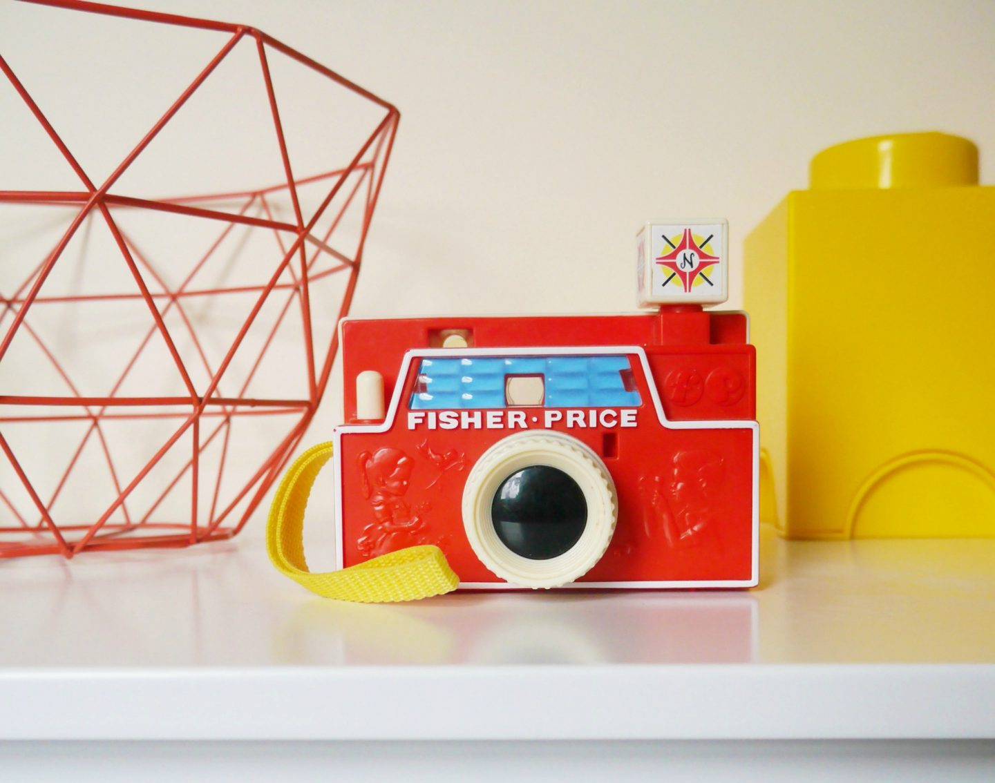 GLTC Easy Reach Storage review - Fisher Price vintage camera