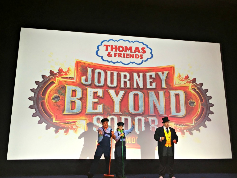 Thomas the Tank Engine - Journey Beyond Sodor animated film premier