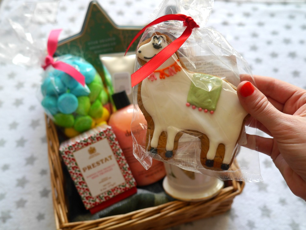Lama biscuit from John Lewis for Christmas