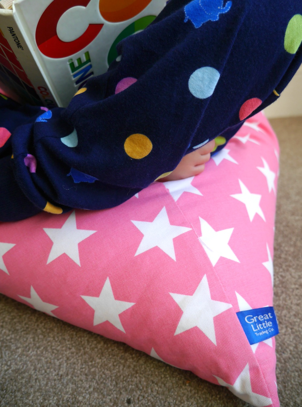 Great Little Trading Company washable pyramid bean beg review