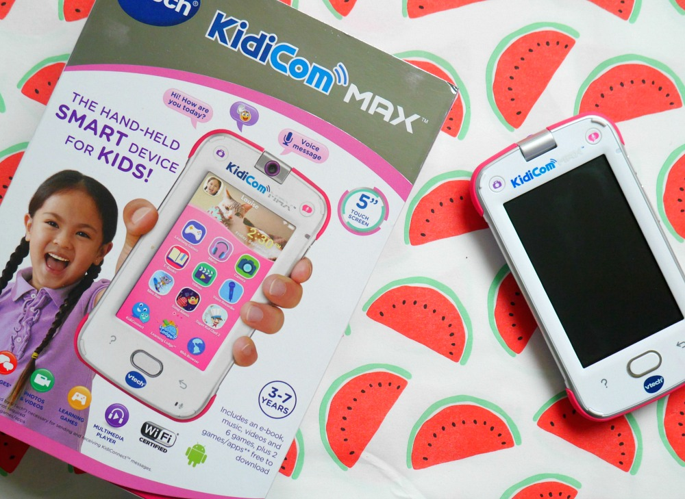 Vtech Kidicom Max Review We Test Out A New Children S Tablet A