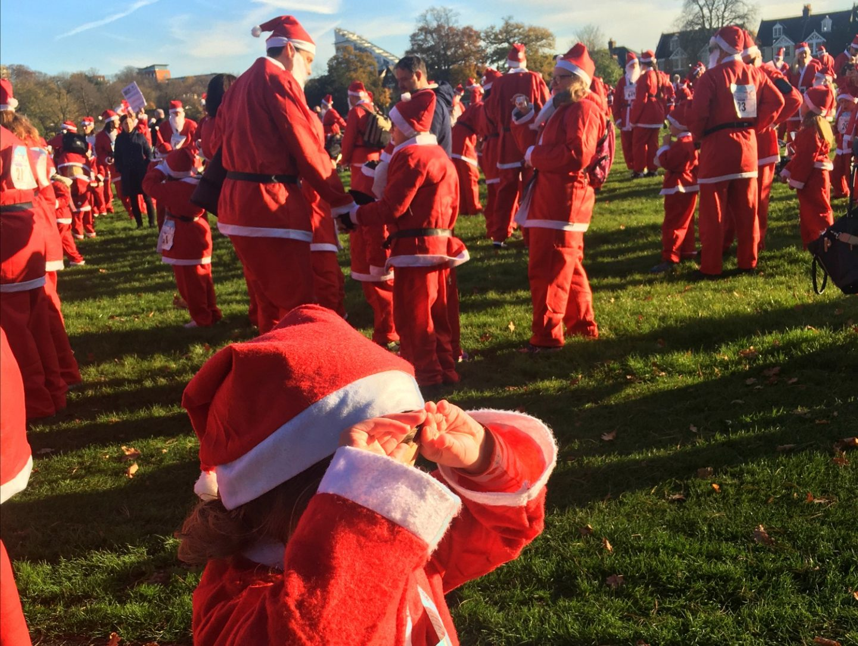 Bromley Santa Dash 2017