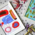 A genius idea for displaying children's art