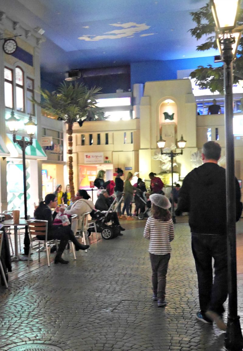 Kidzania London review - walking round