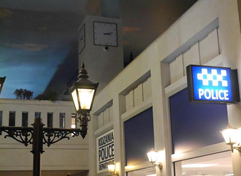 Kidzania London - police station