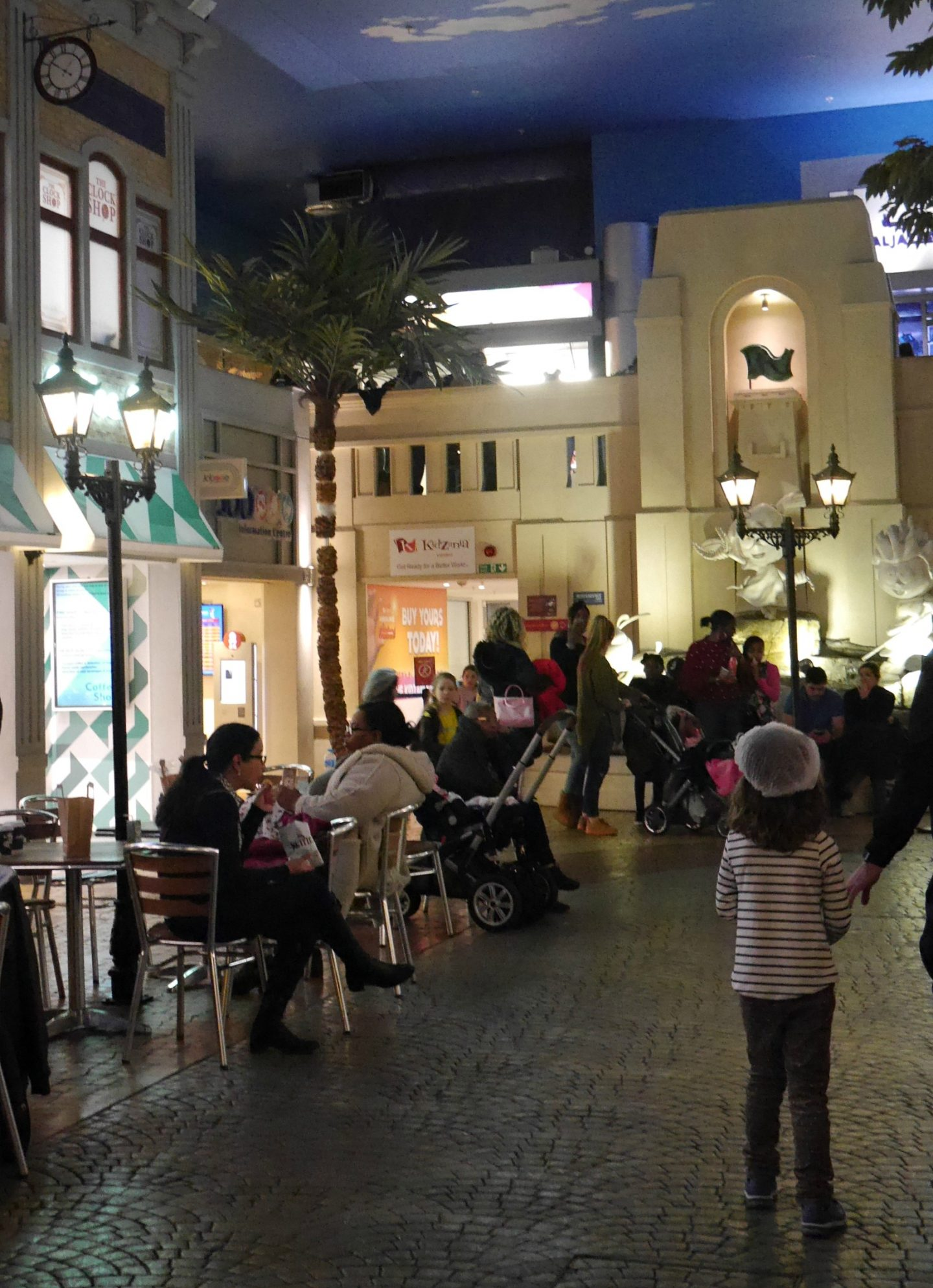 Kidzania London review - walking around