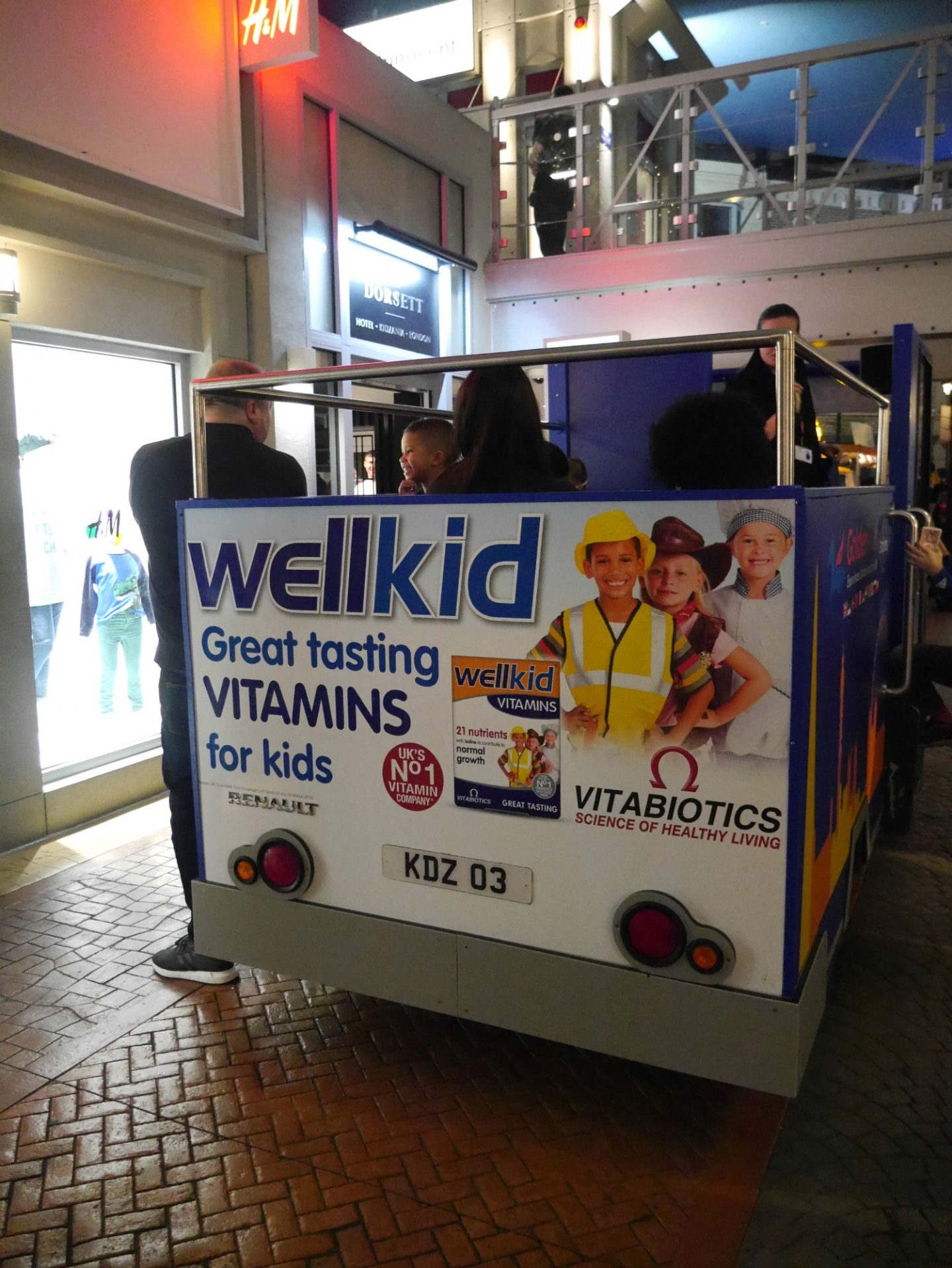 Wellkid vitamins at Kidzania London