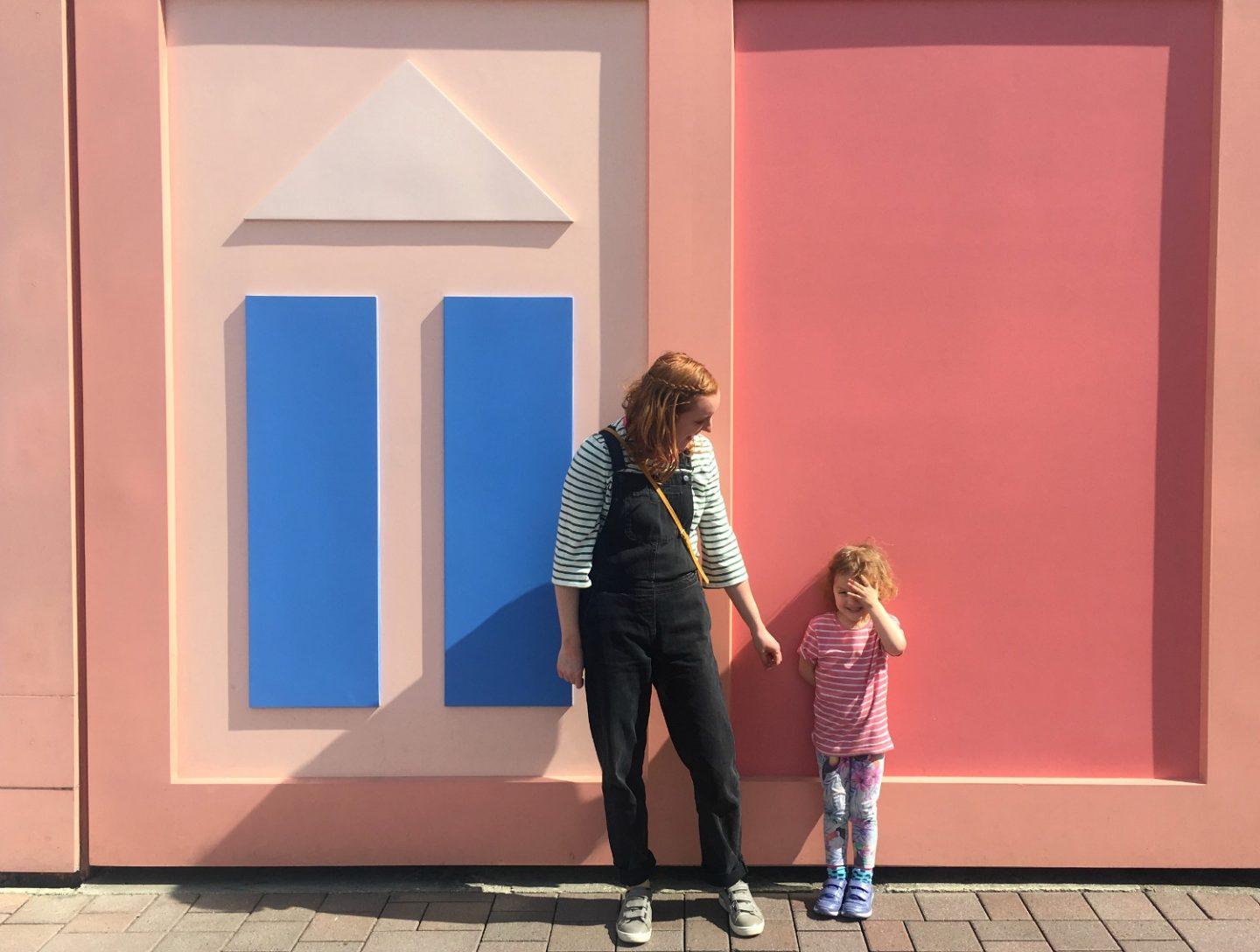 Disneyland Paris trip tips - colourful walls