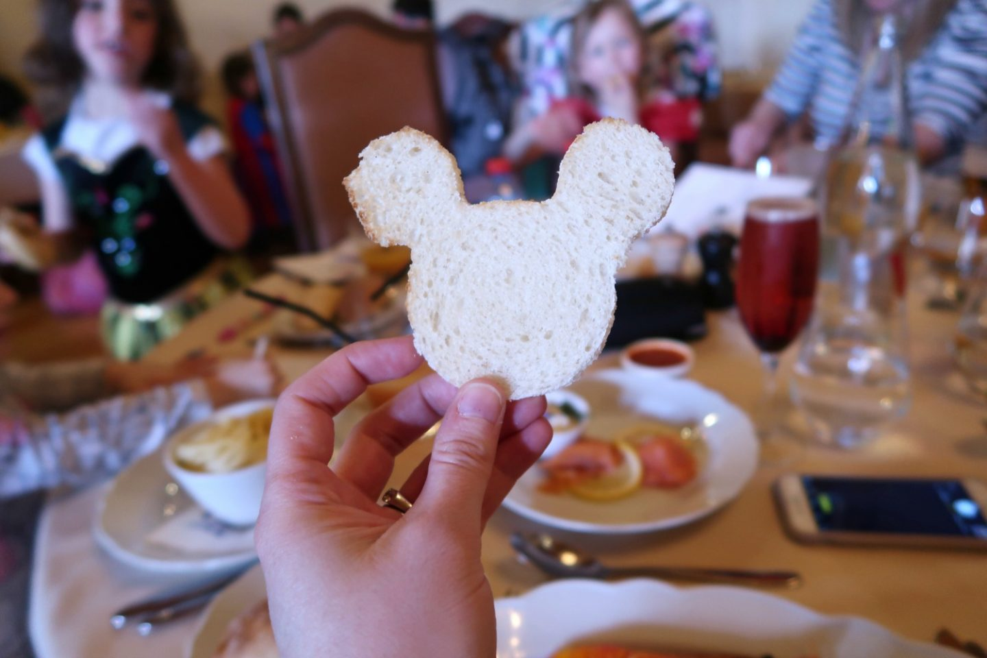 Disneyland paris trip tips - Princess lunch