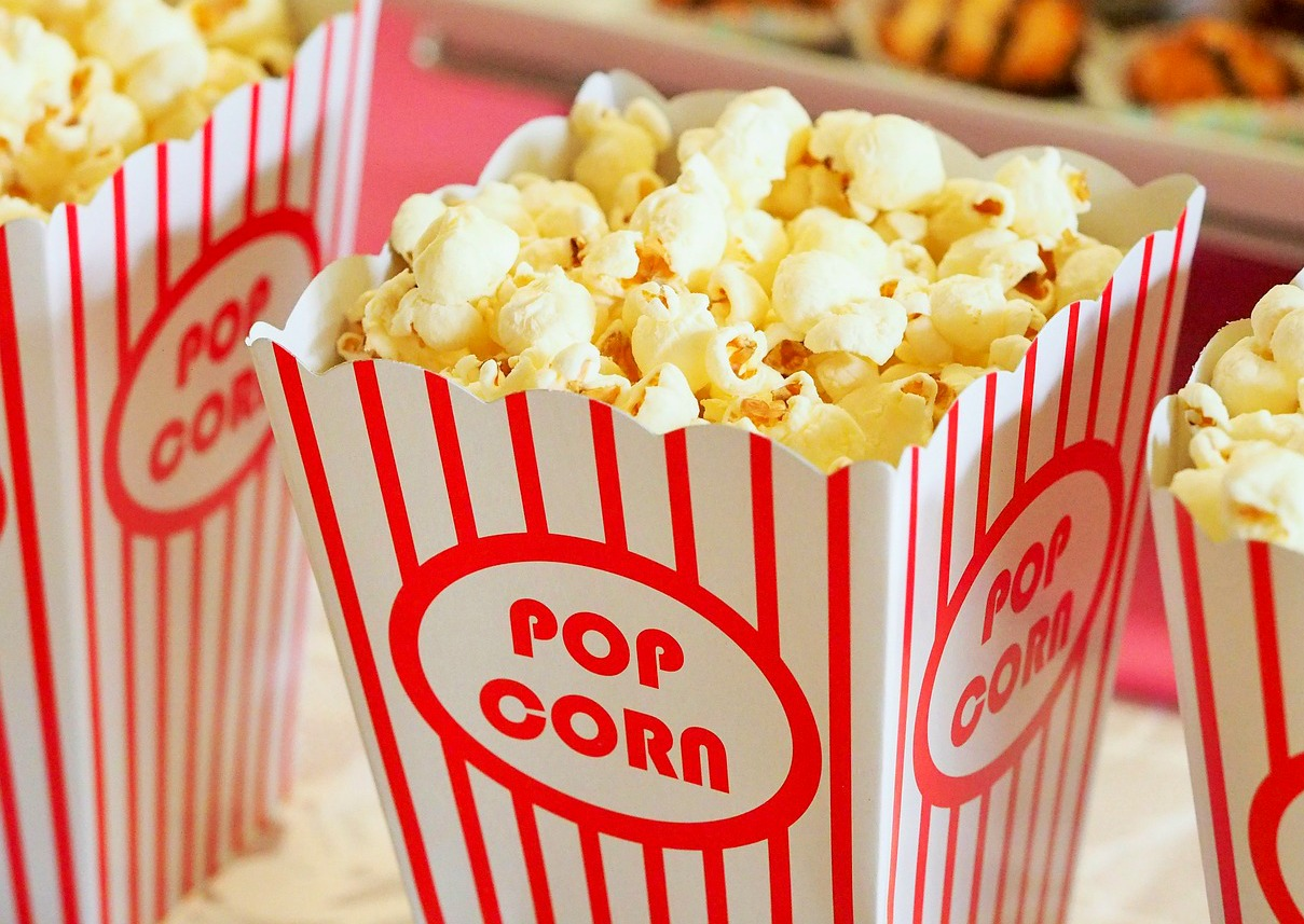 Popcorn - how to avoid the cinema being a ticket to a parenting disaster movie